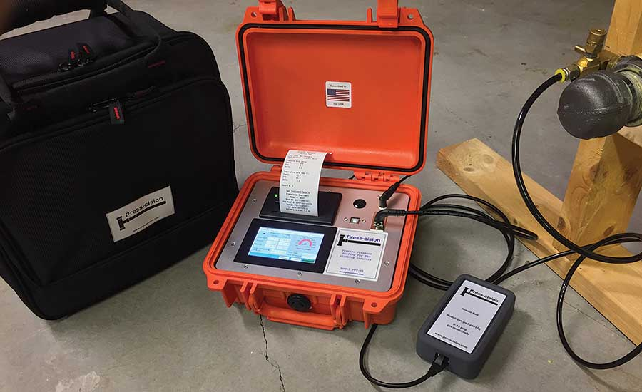 Presscision PPT portable digital test instrument