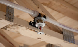The use of PEX tubing in residential fire sprinkler systems is growing due to its versatility
