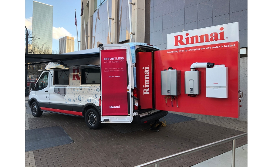 Rinnai Hits The Road With Try Tour