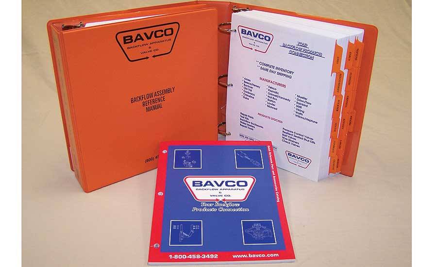 BAVCO master-part distributor reference manual