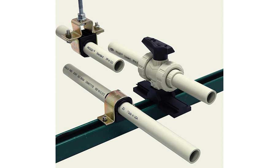 GF Piping Systems Pipe Guide and Valve-support System
