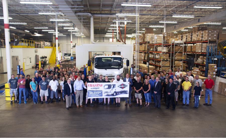 Isuzu 50000 N Series Gas Truck Group