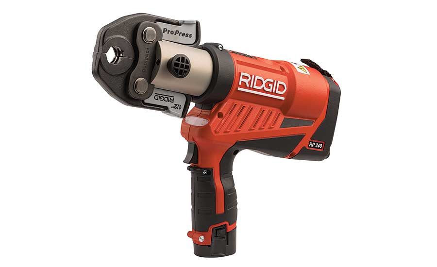 RIDGID Compact Press Tools (RP 240 & RP 241)