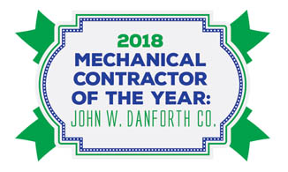 PM 2018 Mechanical Contractor of the Year Logo