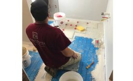 The popularity of installing floor heating cable with uncoupling membranes