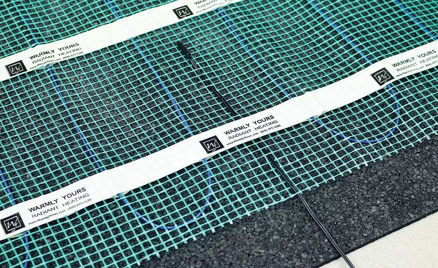Cut-and-Turn heating rolls continue to be the most popular floor heating products