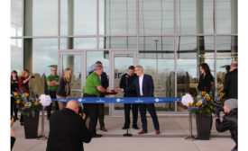 InSinkErator celebrated the grand opening of their new headquarters in Mount Pleasant, Wisconsin on Nov. 7.