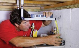 The type of tankless water heater