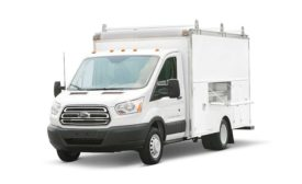 Spartan Service Truck Body