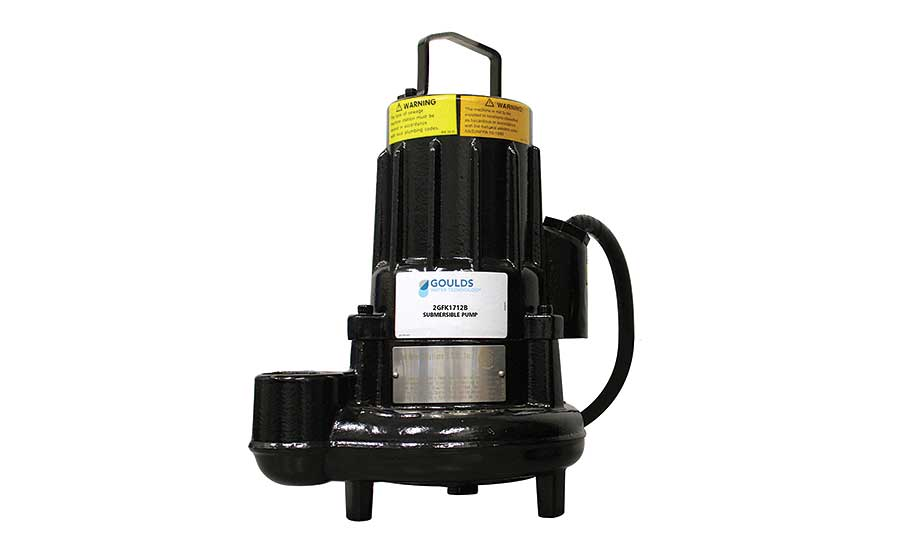 Goulds Water Technology GFK submersible sewage pumps | 2018
