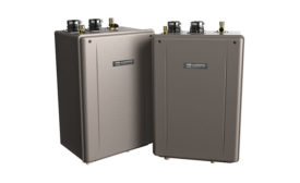 Noritz America EZ Series high-efficiency condensing tankless water heaters