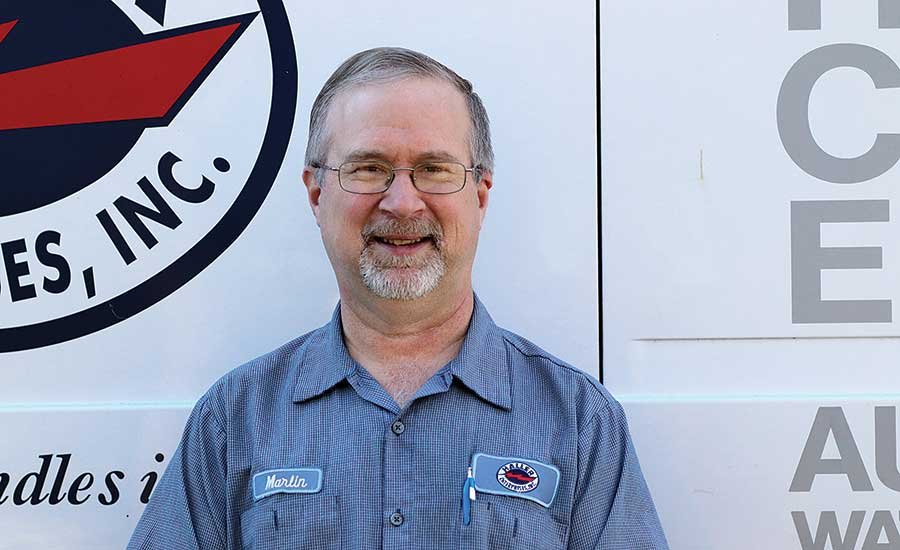 Plumber of the Month: Marlin Martin
