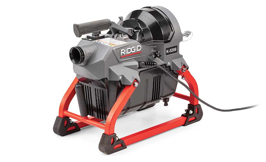 Compact sectional machine from RIDGID