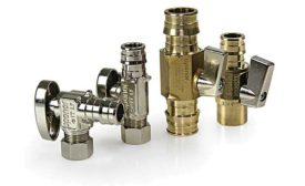 The ProPEX lead-free brass valves