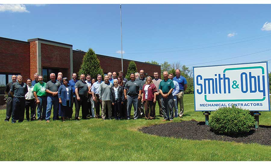 Today, Smith & Oby primarily does commercial HVAC and plumbing work
