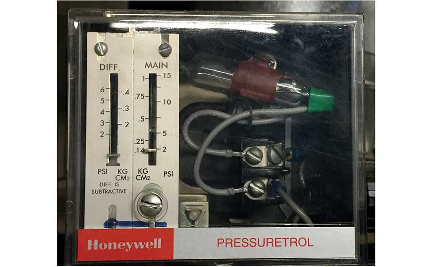 A pressuretrol controls when a steam boiler should begin and end firing based on pressure.