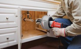 The RIDGID K-45 Sink Machine