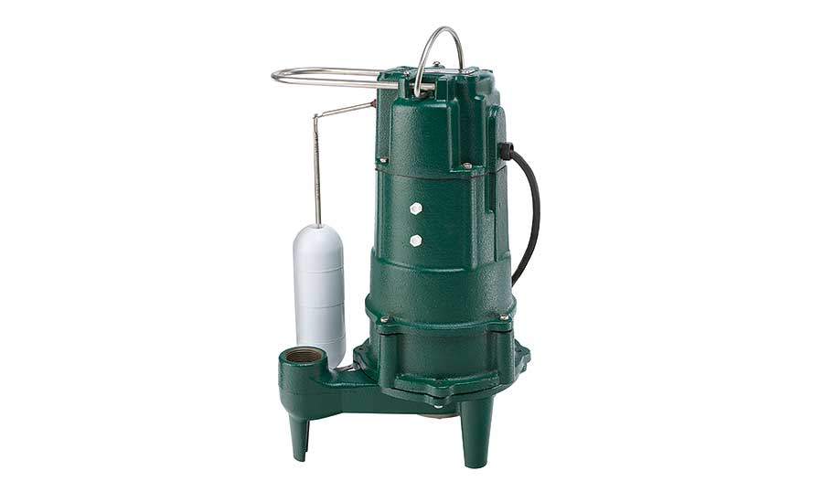 Fractional horsepower grinder pumps from Zoeller Pump Co.