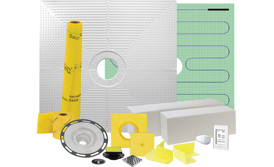 Shower waterproofing and heating kits from Warmly Yours