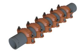 Victaulic CPVC pipe expansion joint