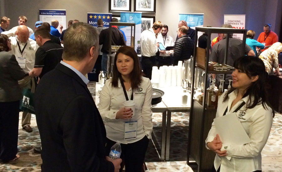 Service Roundtable members visit with manufacturers and service providers