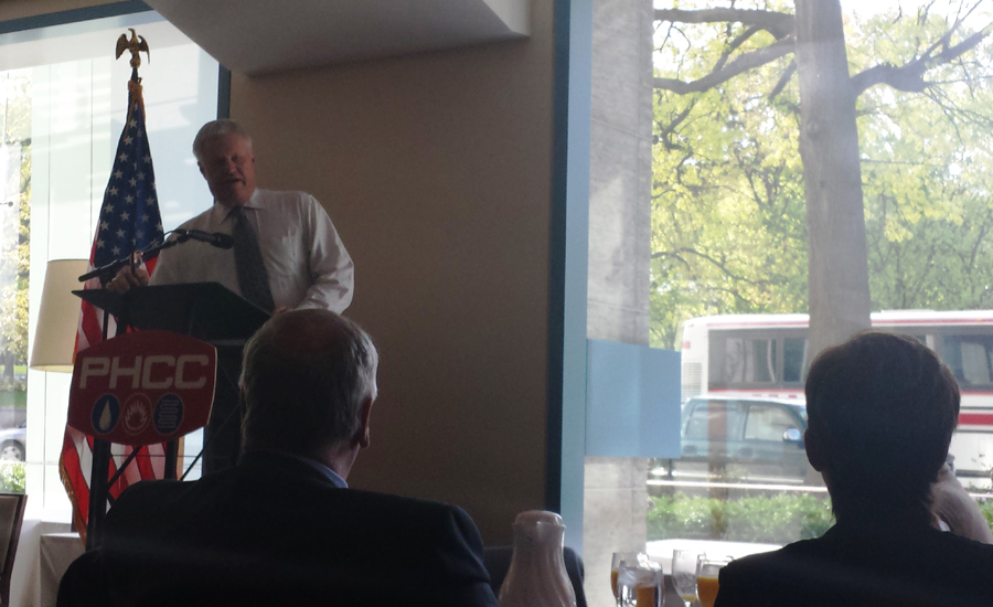 PHCC-NA members hear from Congressman Collin Peterson (D-MN).