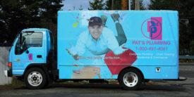 Pat's Plumbing service truck