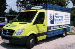 The Scottish Plumber, Villa Park, Ill. (Photo courtesy of The Scottish Plumber)