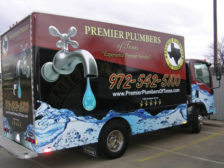 PM's May Truck of the Month. Photocredit: Premier Plumbers of Texas