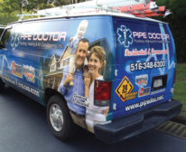 PM's October Truck of the Month: Pipe Doctor Plumbing, Woodmere, N.Y. Photo credit: Mike Diack
