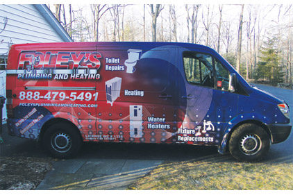 Truck Of The Month Foley 39 S Plumbing And Heating Danbury Conn 2012 03 01 Plumbing And