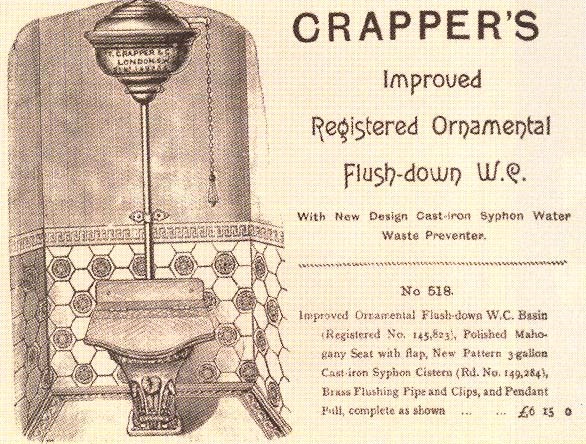 Thomas Crapper Myth and