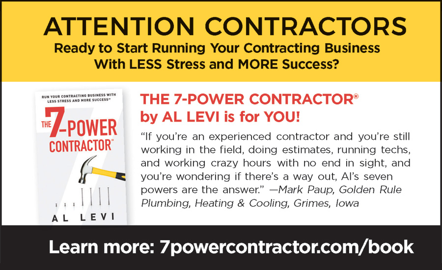 ATTENTION CONTRACTORS
