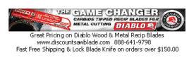 GREAT PRICING ON DIABLO WOOD & METAL RECIP BLADES