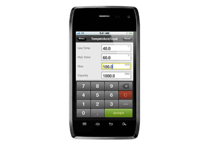 Bell & Gossett's System Syzer mobile app for Android-422px
