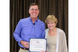 Judy Garber and Dan Holohan