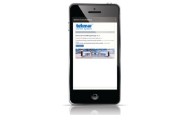 tekmar Control Systems snow-melt mobile app