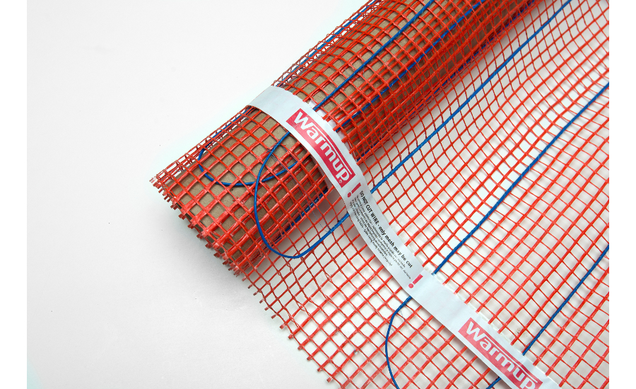 Warmup Electric Radiant Heating Mat 2015 11 25