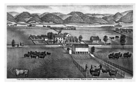 The 19th-century Cockayne Farmstead