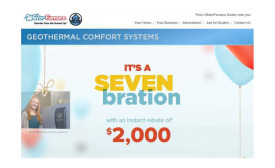 WaterFurnace SEVENbration rebate event