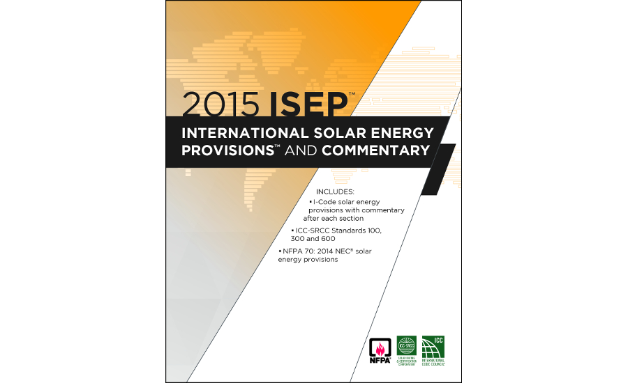 ICC 2015 International Solar Energy Provisions and Commentary