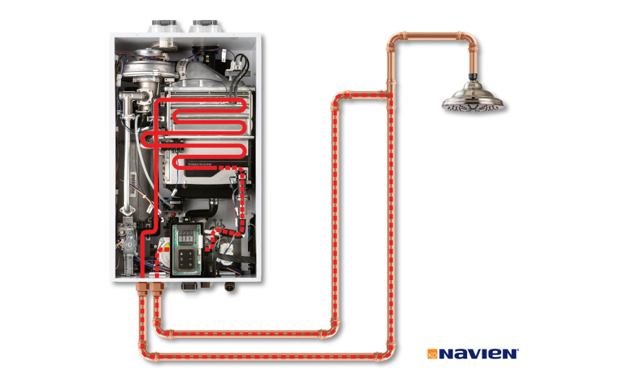 Navien tankless hot water recirculation