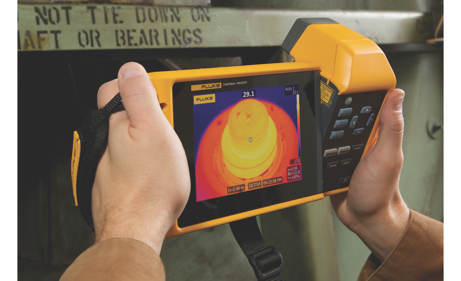 Fluke TiX560 infrared camera for thermal imaging