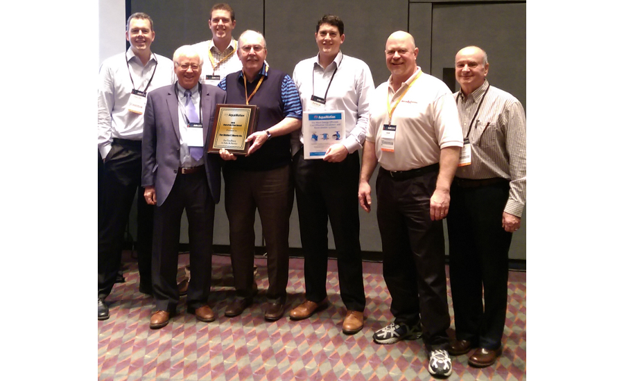 AquaMotion 2015 Rep of the Year: Walter F. Morris Co.
