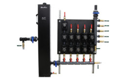 Geo-Flo flow center for geothermal heat pumps