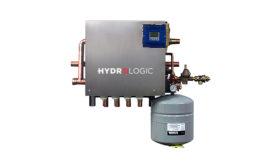 WaterFurnace HydroLogic mechanical panel for radiant heating