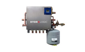 WaterFurnace HydroLogic mechanical panel for radiant heating